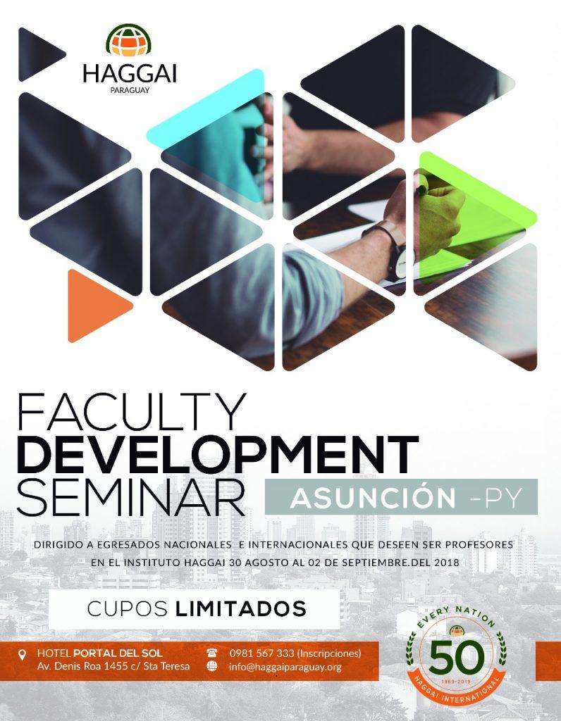 Faculty Development Seminar